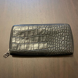 カステルバジャック(CASTELBAJAC)のカステルバジャック  長財布 クロコダイル調 ラウンドファスナー財布(長財布)