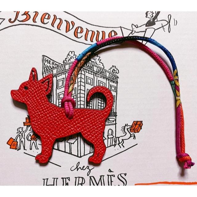 Hermes(エルメス)の新品未使用 エルメス プティアッシュ チワワ レディースのアクセサリー(チャーム)の商品写真