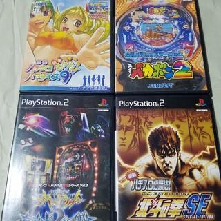 プレイステーション2(PlayStation2)のCRバカボン2など4本セット(家庭用ゲームソフト)