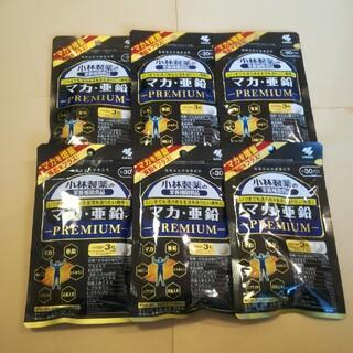 小林製薬 - 小林製薬 マカ.亜鉛プレミアム30日分×6袋