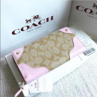 COACH - 新品 未使用品    COACH 長財布 シグネチャー F53780