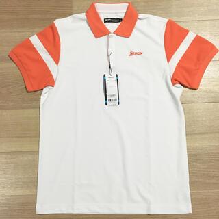 スリクソン(Srixon)のスリクソン ゴルフウェア 半袖シャツ L メンズ 新品 安売り 定価8030円(ウエア)