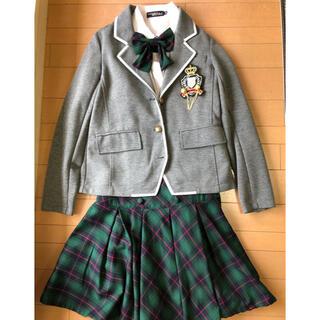 ラブトキシック(lovetoxic)の卒業式 女児スーツ (140cm)(ドレス/フォーマル)