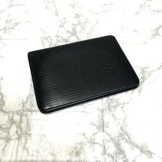 ルイヴィトン(LOUIS VUITTON)の正規品✨ルイヴィトンエピ、カードケース、即日発送‼️(名刺入れ/定期入れ)