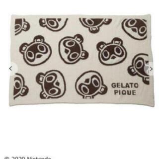 ジェラートピケ(gelato pique)の【新品未使用】ジェラートピケ どうぶつの森 つふまめ ブランケット(おくるみ/ブランケット)