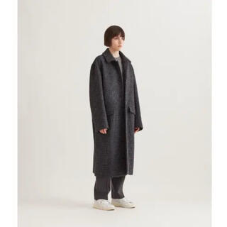 サカイ(sacai)のATON air double melton loden coat(ロングコート)