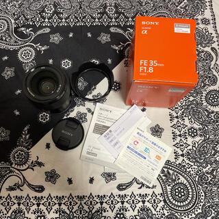 ソニー(SONY)のSONY FE 35mm F1.8 SEL35F18F(レンズ(単焦点))