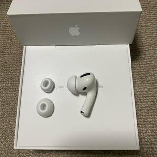 アップル(Apple)の美品 エアーポッズ AirPodsPro R 右耳のみ イヤーチップ付き(ヘッドフォン/イヤフォン)