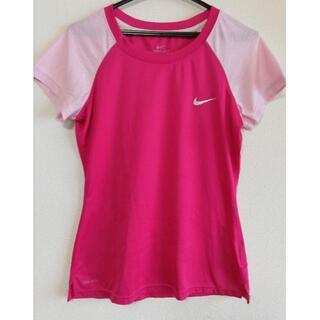 ナイキ(NIKE)のナイキ スポーツ Tシャツ M レディース(Tシャツ(半袖/袖なし))