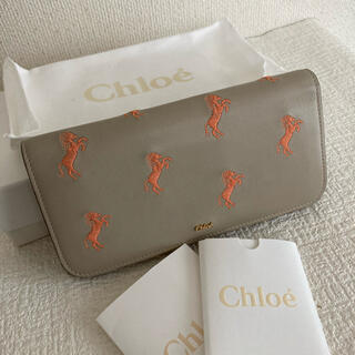 Chloe - クロエ 長財布 リトルホース