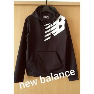 New Balance - new balance★裏起毛ブラックパーカー
