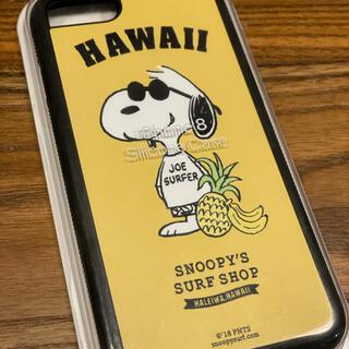 ピーナッツ(PEANUTS)のiphone SE(2nd)用 ハワイ限定スヌーピーケース(iPhoneケース)