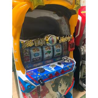 サンキョー(SANKYO)の涼宮ハルヒ スロット実機 コイン不要機付き(パチンコ/パチスロ)