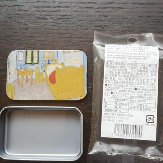 ゴッホ アルルの寝室のタブレット缶