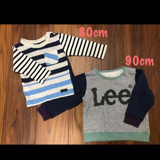 リー(Lee)のトップス 【2点】 80cm    90cm(Tシャツ/カットソー)