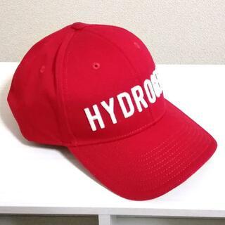 ハイドロゲン(HYDROGEN)のHYDROGEN ハイドロゲン CAP ベースボール キャップ RED 立体ロゴ(キャップ)