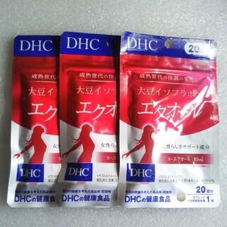 DHC - DHC 大豆イソフラボン エクオール 20日分×3袋