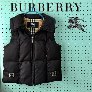BURBERRY - BURBERRY  バーバリー  ダウンベスト  ノバチェック   120cm