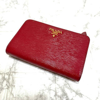 プラダ(PRADA)の正規品✨PRADA プラダ 折り財布、即日発送‼️(財布)