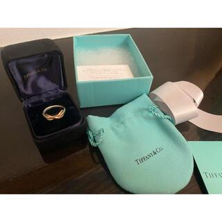 Tiffany & Co. - インフィニティリング k18 ローズゴールド