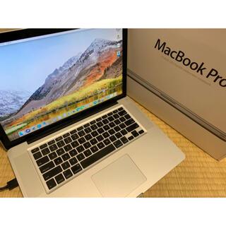 Apple - 15インチ MacBook pro i7 16GB SSD512
