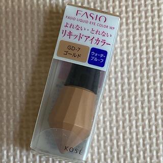 Fasio - ファシオ リキッドアイカラー WP GD-7 ゴールド(5g)