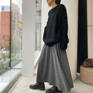 アパルトモンドゥーズィエムクラス(L'Appartement DEUXIEME CLASSE)のhiyo様専用アパルトモン Wool Asymmetry Skirt(ロングスカート)