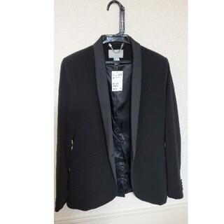 エイチアンドエム(H&M)の(美品タグ付き)H&M ジャケット 黒 EUR 42 2016年頃購入(その他)