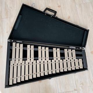 ヤマハ(ヤマハ)のヤマハ  YG-50C グロッケン 鉄琴 打楽器 ハードケース付(鉄琴)