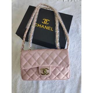 CHANEL - ♥極美品♥シャネルショルダーバッグ·ハンドバッグ ノベルティ ピンクレディース