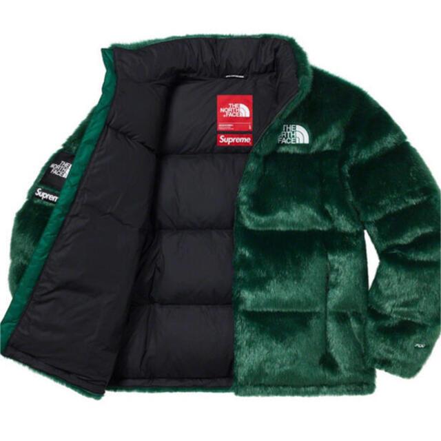 Supreme(シュプリーム)のM Supreme The North Face Faux Fur Nuptse メンズのジャケット/アウター(ダウンジャケット)の商品写真