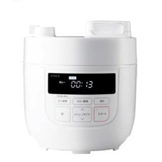 siroca 4L電気圧力鍋 ホワイト(調理機器)