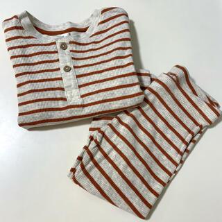 エイチアンドエム(H&M)のH&M ベビー 長袖セットアップ 85cm(Tシャツ)