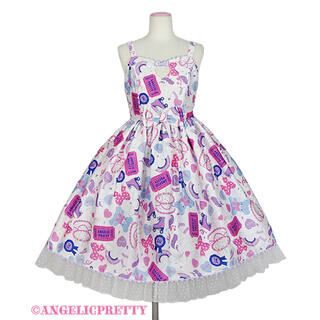 Angelic Pretty - アンジェリックプリティ  Girly Stickerジャンパースカート