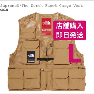 Supreme - supreme the north face cargo vest L