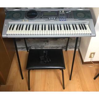 CASIO - CASIO 電子ピアノ キーボード LK-88CD 椅子 台座付き