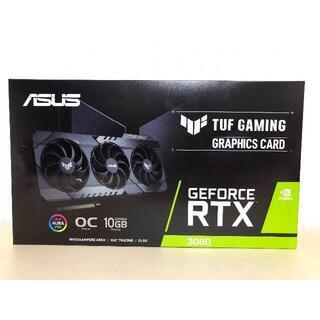 エイスース(ASUS)の新品未開封品 ASUS TUF RTX3080 O10G GAMING(PCパーツ)