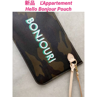 L'Appartement DEUXIEME CLASSE - 新品 L'Appartement  Hello Bonjour Pouch