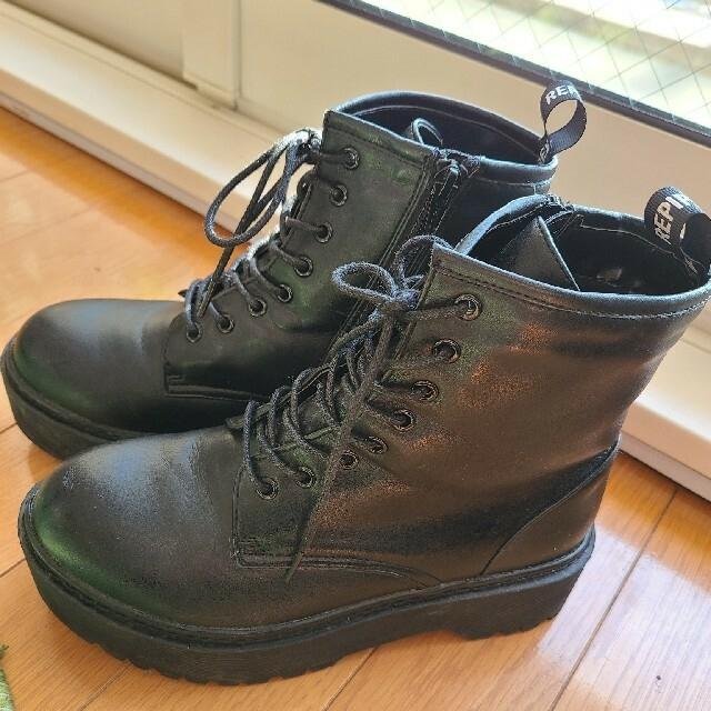 repipi armario(レピピアルマリオ)のレピピ編み上げブーツ レディースの靴/シューズ(ブーツ)の商品写真