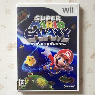 ウィー(Wii)のWii  スーパーマリオギャラクシー  中古(家庭用ゲームソフト)