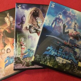 ◎ウルトラマンエース レンタル落ちdvd 【 3本セット売り 】(キッズ/ファミリー)
