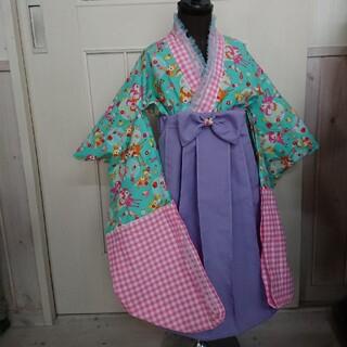 100サイズ キッズ袴(和服/着物)