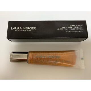 ローラメルシエ(laura mercier)のローラメルシエ リップ&アイグロス ゴールド 新品(リップグロス)