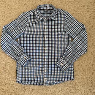 エイチアンドエム(H&M)のチェックシャツ 134 (ブラウス)