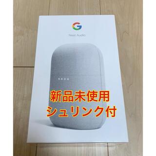 グーグル(Google)のGoogle Nest Audioグーグルネストオーディオ スマートスピーカー(スピーカー)