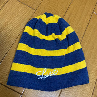 ルース(LUZ)の【お値下げ中】LUZeSOMBRA 子供用ニット帽(帽子)