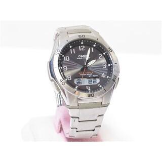 カシオ(CASIO)のカシオ ウェーブセプター メンズ腕時計 WVA-M640 ソーラー電波(金属ベルト)