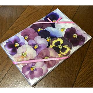 a④  4点限定500円‼️銀の紫陽花が作ったパンジーのドライフラワー(ドライフラワー)