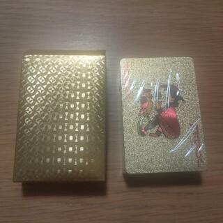トランプ ゴールド プラスチック製 (トランプ/UNO)