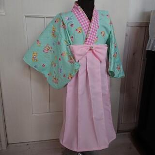 100サイズ キッズ 袴(和服/着物)